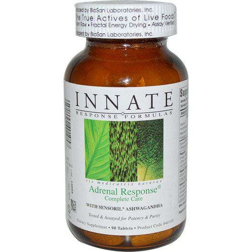 Innate Response Formulas, Adrenal Response Complete Care, 90 Tablets Review
