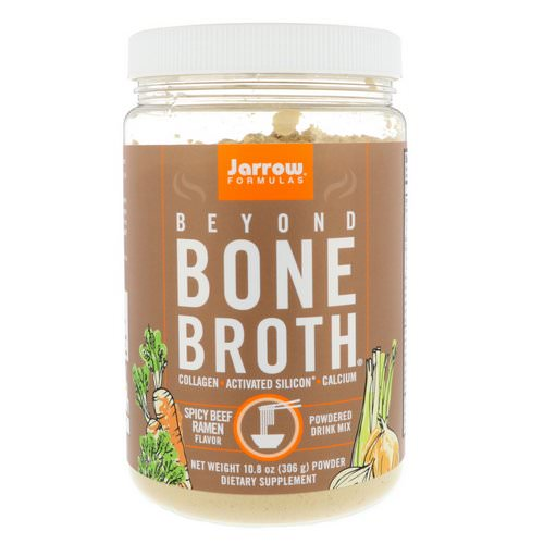 Jarrow Formulas, Beyond Bone Broth, Spicy Beef Ramen Flavor, 10.8 oz (306 g) Review