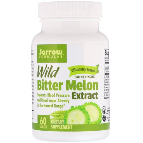 Jarrow Formulas, Wild Bitter Melon Extract, 60 Tablets Review