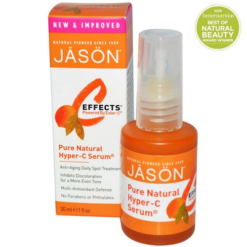 Jason Natural, C-Effects, Hyper-C Serum, Anti-Aging Daily Spot Treatment, 1 fl oz (30 ml) Review