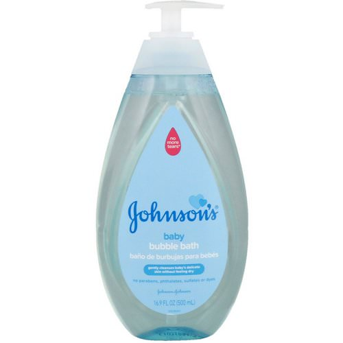 Johnson & Johnson, Baby Bubble Bath, 16.9 fl oz (500 ml) Review