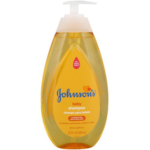 Johnson & Johnson, Baby Shampoo, 20.3 fl oz (600 ml) Review
