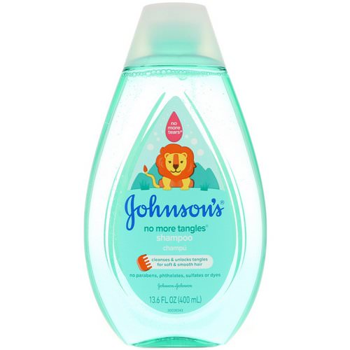 Johnson & Johnson, No More Tangles, Shampoo, 13.6 fl oz (400 ml) Review