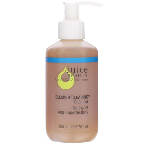 Juice Beauty, Stem Cellular, 2-in-1 Cleanser, 4.5 fl oz (133 ml) Review