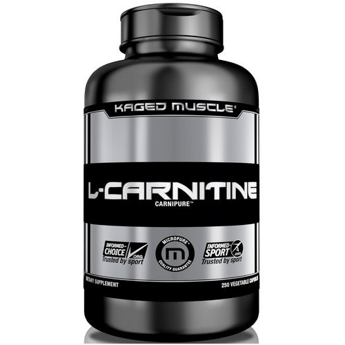 Kaged Muscle, L-Carnitine, 250 Veggie Caps Review
