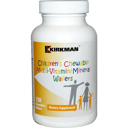 Kirkman Labs, Children's Chewable Multi-Vitamin/Mineral Wafers, 120 Chewable Wafers Review