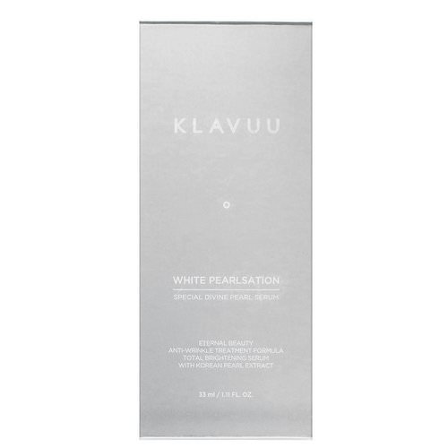 KLAVUU, White Pearlsation, Special Divine Pearl Serum, 1.11 fl oz (33 ml) Review