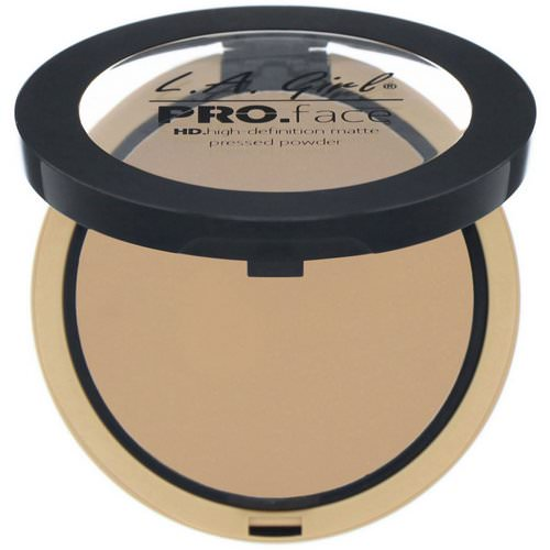 L.A. Girl, Pro Face HD Matte Pressed Powder, True Bronze, 0.25 oz (7 g) Review