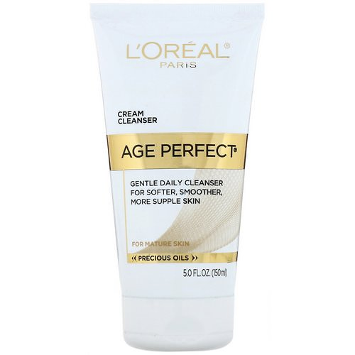 L'Oreal, Age Perfect, Gentle Daily Cleanser, 5 fl oz (150 ml) Review