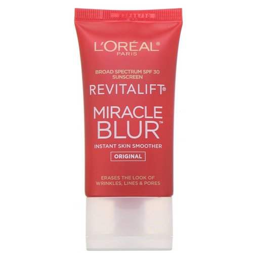L'Oreal, Revitalift Miracle Blur, Instant Skin Smoother, Original, SPF 30, 1.18 fl oz (35 ml) Review