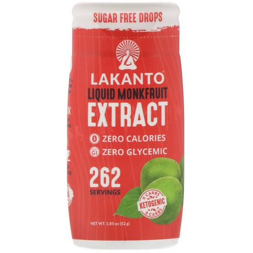 Lakanto, Liquid Monkfruit Extract Drops, 1.85 oz (52 g) Review