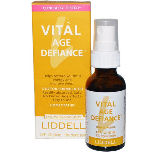 Liddell, Vital Age Defiance, Oral Spray, 1.0 fl oz (30 ml) Review