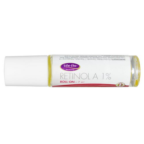 Life-flo, Retinol A 1% Roll On, 7 ml Review