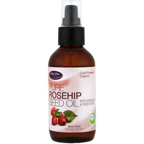 Life-flo, Pure Rosehip Seed Oil, Skin Care, 4 fl oz (118 ml) Review