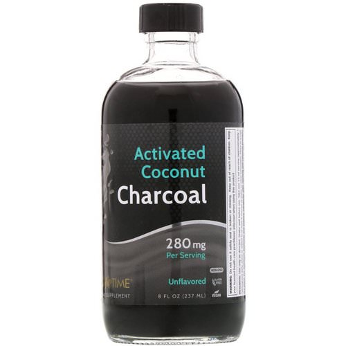 LifeTime Vitamins, Activated Coconut Charcoal, Unflavored, 280 mg, 8 fl oz (237 ml) Review
