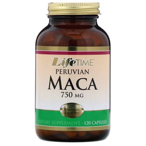 LifeTime Vitamins, Peruvian Maca, 750 mg, 120 Capsules Review