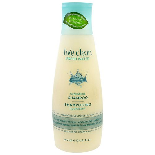 Live Clean, Hydrating Shampoo, Fresh Water, 12 fl oz (350 ml) Review