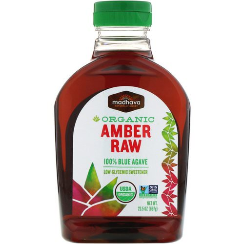 Madhava Natural Sweeteners, Organic Amber Raw Blue Agave, 23.5 oz (667 g) Review