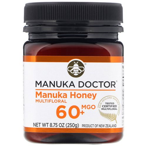 Manuka Doctor, Manuka Honey Multifloral, MGO 60+, 8.75 oz (250 g) Review