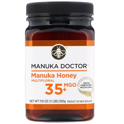 Manuka Doctor, Manuka Honey Multifloral, MGO 35+, 1.1 lbs (500 g) Review