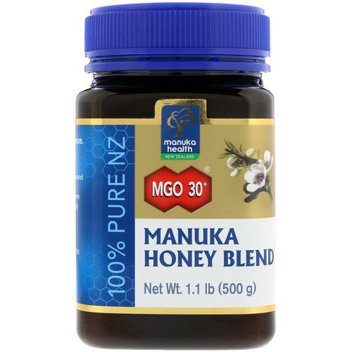 Manuka Health, Manuka Honey Blend, MGO 30+, 1.1 lb (500 g) Review