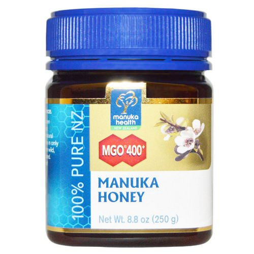 Manuka Health, Manuka Honey, MGO 400+, 8.8 oz (250 g) Review