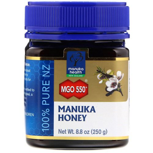 Manuka Health, Manuka Honey, MGO 550+, 8.8 oz (250 g) Review