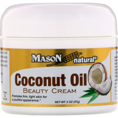 Mason Natural, Coconut Oil Beauty Cream, 2 oz (57 g) Review