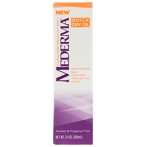 Mederma, Quick Dry Oil, 3.4 oz (100 ml) Review