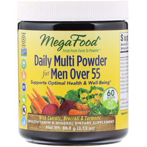 MegaFood, Daily Multi Powder for Men Over 55, 3.13 oz (88.8 g) Review