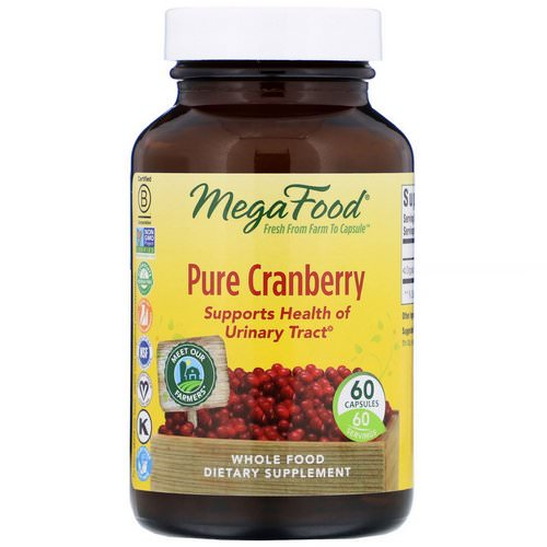 MegaFood, Pure Cranberry, 60 Capsules Review