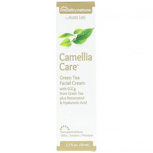 Mild By Nature, Camellia Care, EGCG Green Tea Skin Cream, 1.7 fl oz (50 ml) Review
