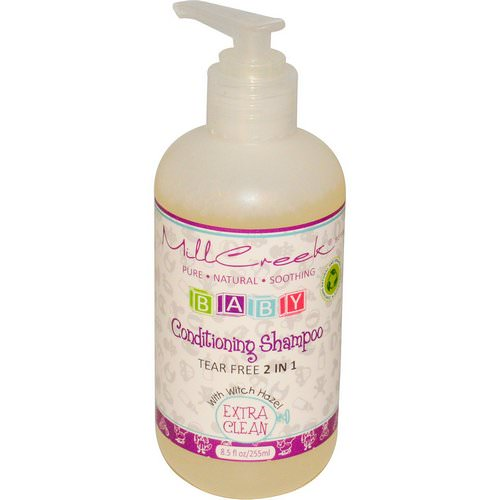 Mill Creek Botanicals, Baby Conditioning Shampoo, Extra Clean, 8.5 fl oz (255 ml) Review