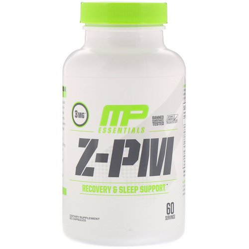 MusclePharm, Essentials, Z-PM, 60 Capsules Review