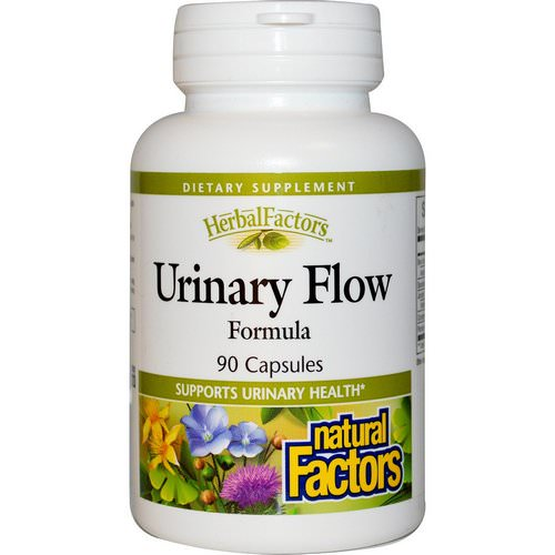 Natural Factors, Urinary Flow Formula, 90 Capsules Review