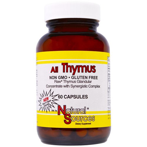 Natural Sources, All Thymus, 60 Capsules Review