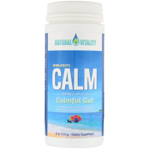 Natural Vitality, Calm Specifics, Calmful Gut, Wildberry Flavor, 6 oz (170 g) Review