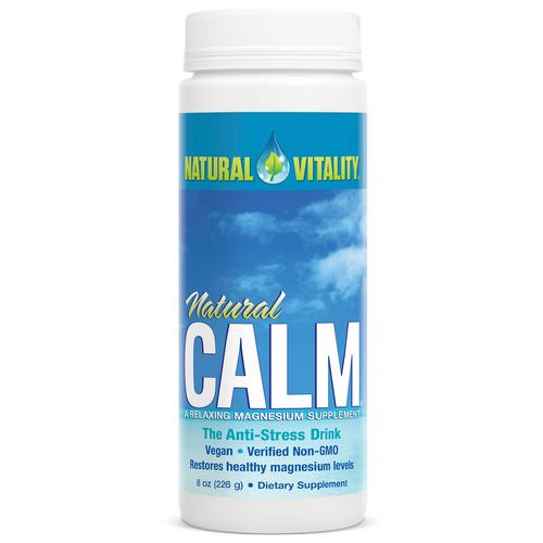Natural Vitality, Natural Calm, The Anti-Stress Drink, Original (Unflavored), 8 oz (226 g) Review