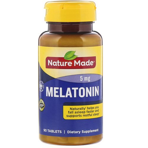 Nature Made, Melatonin, 5 mg, 90 Tablets Review