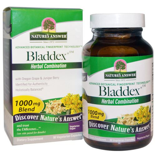 Nature's Answer, Bladdex, 1000 mg, 90 Vegetarian Capsules Review