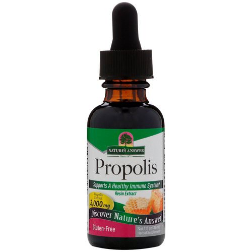 Nature's Answer, Propolis, 2,000 mg, 1 fl oz (30 ml) Review