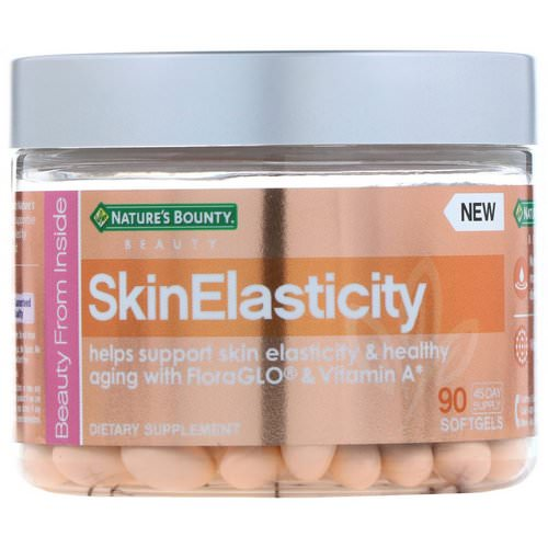 Nature's Bounty, SkinElasticity, 90 Softgels Review