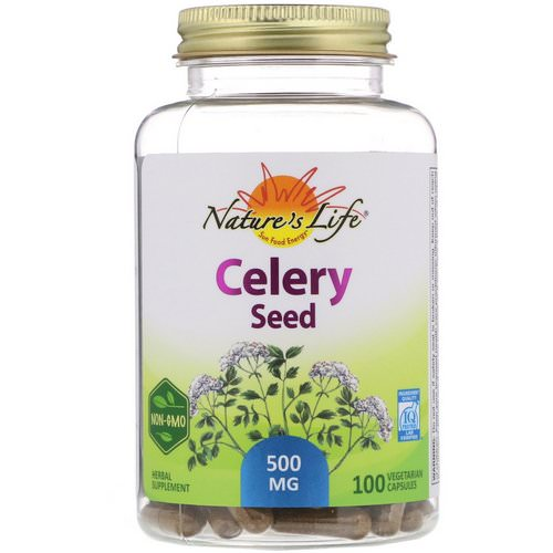 Nature's Herbs, Celery Seed, 100 Vegetarian Capsules Review