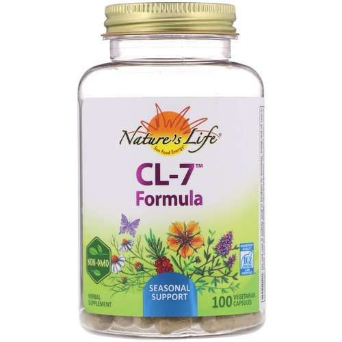 Nature's Herbs, CL-7 Formula, 100 Vegetarian Capsules Review