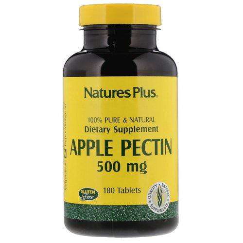 Nature's Plus, Apple Pectin, 500 mg, 180 Tablets Review