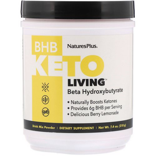 Nature's Plus, BHB Keto Living, Berry Lemonade, 7.4 oz (210 g) Review
