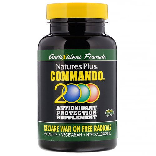 Nature's Plus, Commando 2000 Antioxidant Protection, 90 Tablets Review