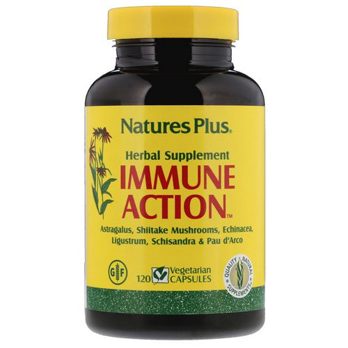 Nature's Plus, Immune Action, 120 Vegetarian Capsules Review