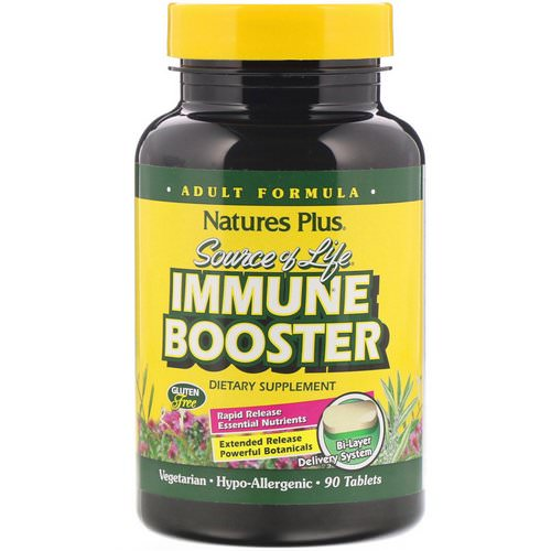 Nature's Plus, Source of Life, Immune Booster, 90 Tablets Review