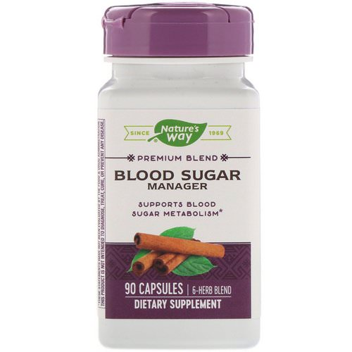 Nature's Way, Blood Sugar Manager, 90 Capsules Review